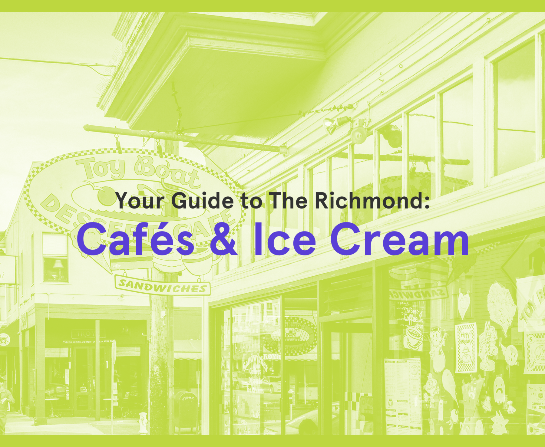 Richmond Cafes And Ice Cream